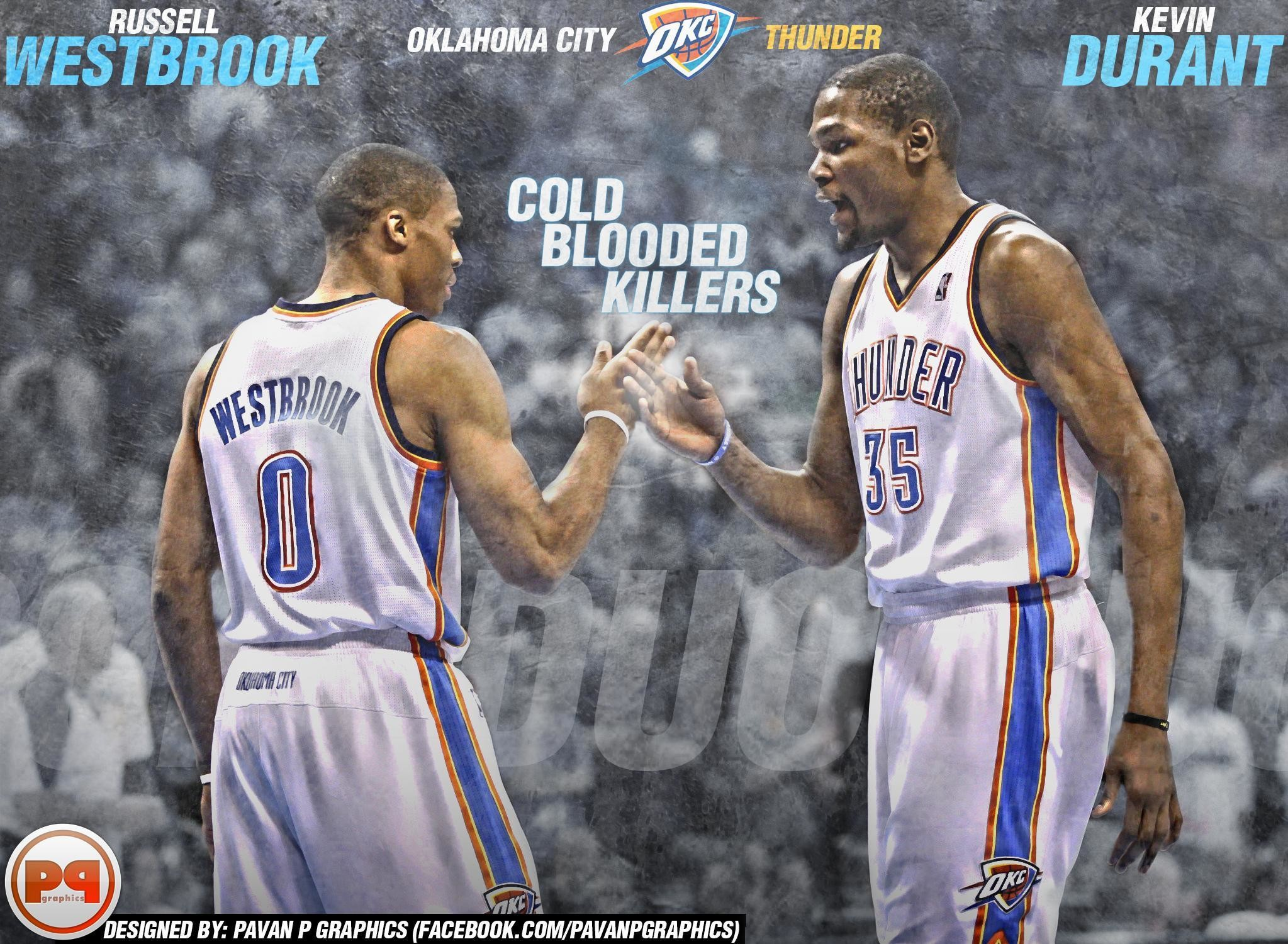 Kevin Durant And Russell Westbrook Wallpapers 2017 – Wallpaper Cave