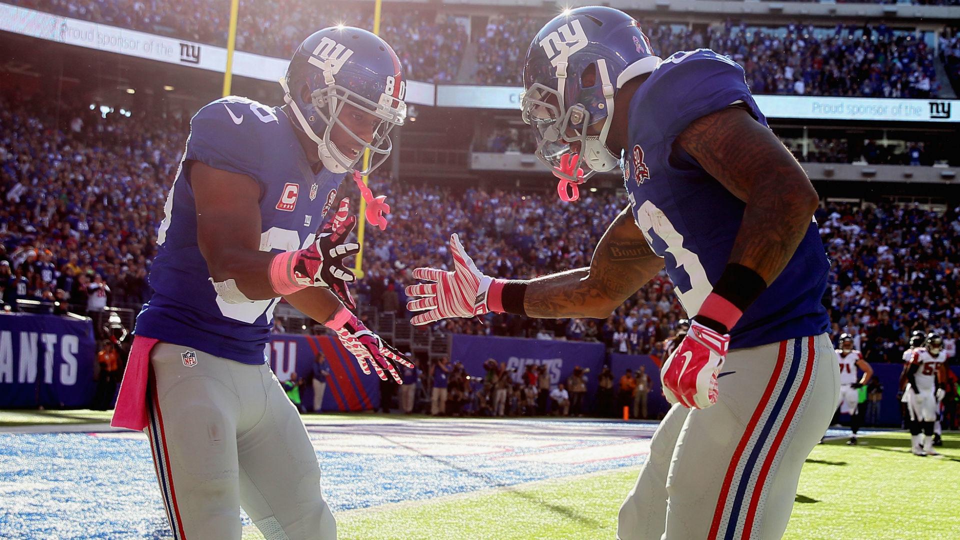 Giants optimistic about injured Odell Beckham Jr., Victor Cruz | NFL |  Sporting News