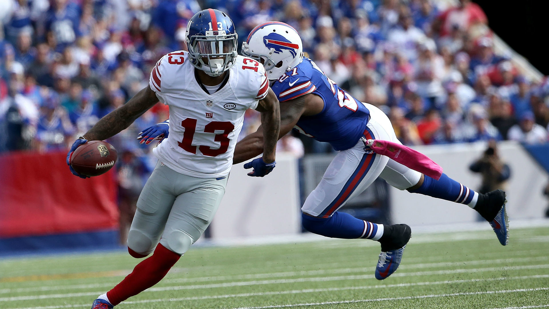 Bills accuse 'prima donna' Odell Beckham Jr. of throwing punches | NFL |  Sporting News