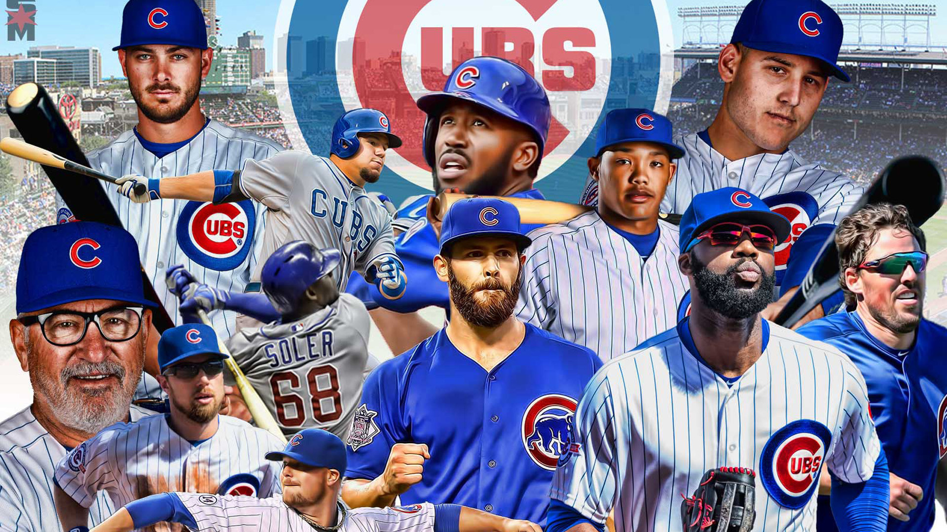 Cubs Wallpapers Design Ideas ~ Chicago Cubs Wallpapers Wallsaved .