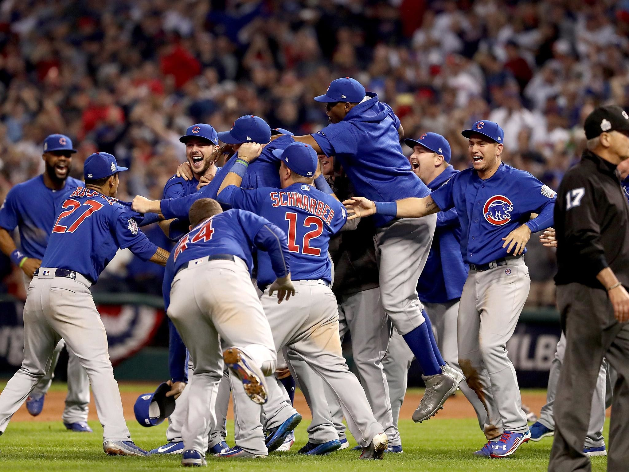 Cubs end 108-year World Series drought with victory over the Indians