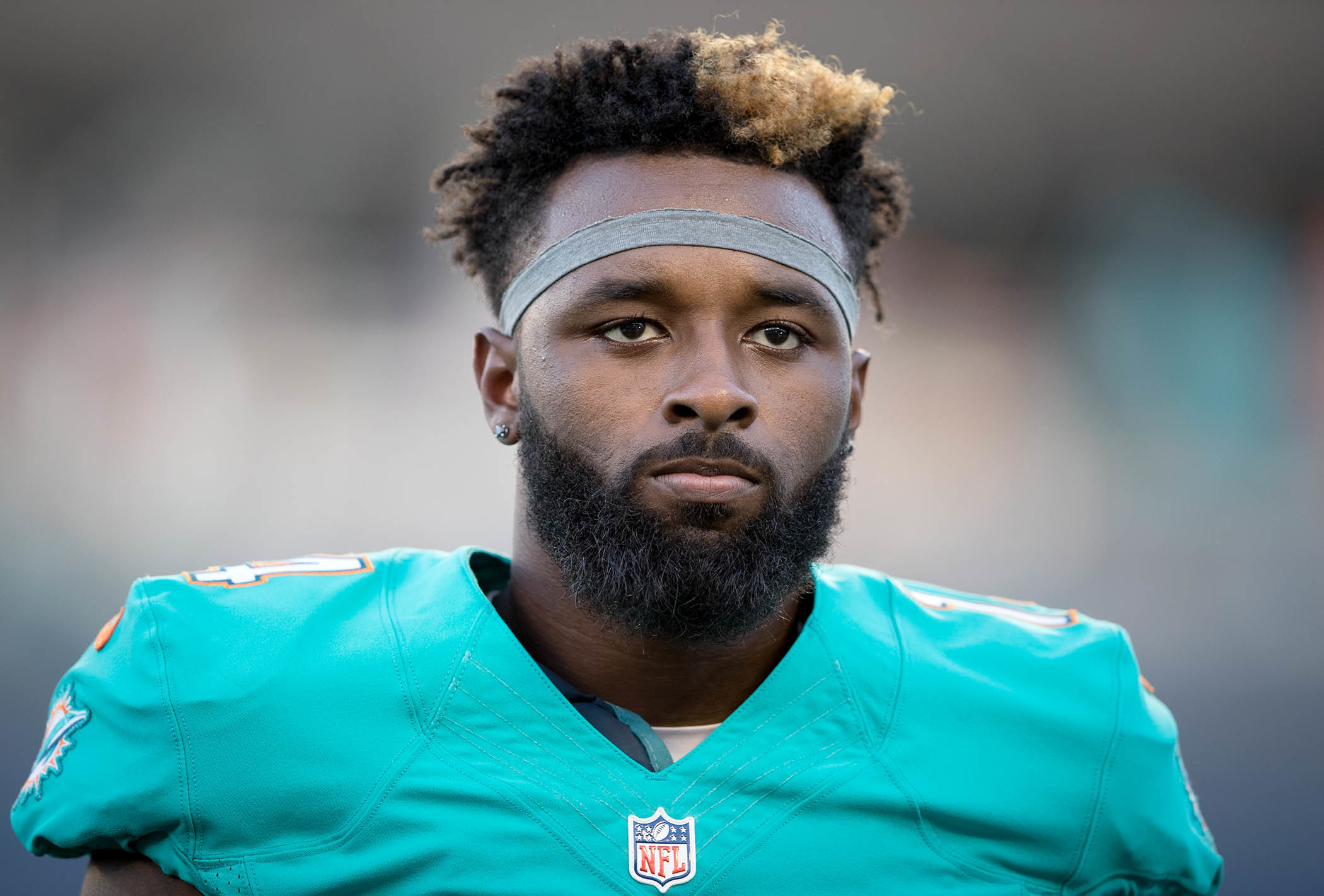 Miami Dolphins wide receiver Jarvis Landry (14) at Camping World Stadium in  Orlando,