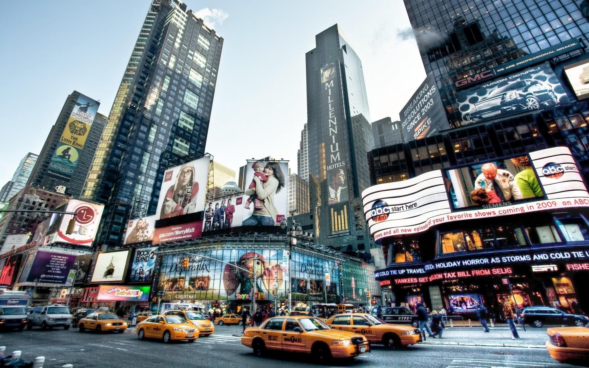 new york free screensaver wallpapers