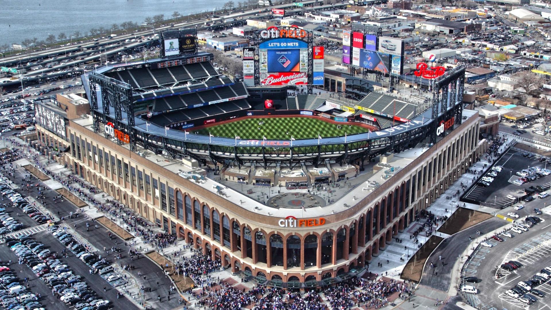 New York Mets ballpark Citi Field, Queens, New York City Wallpaper