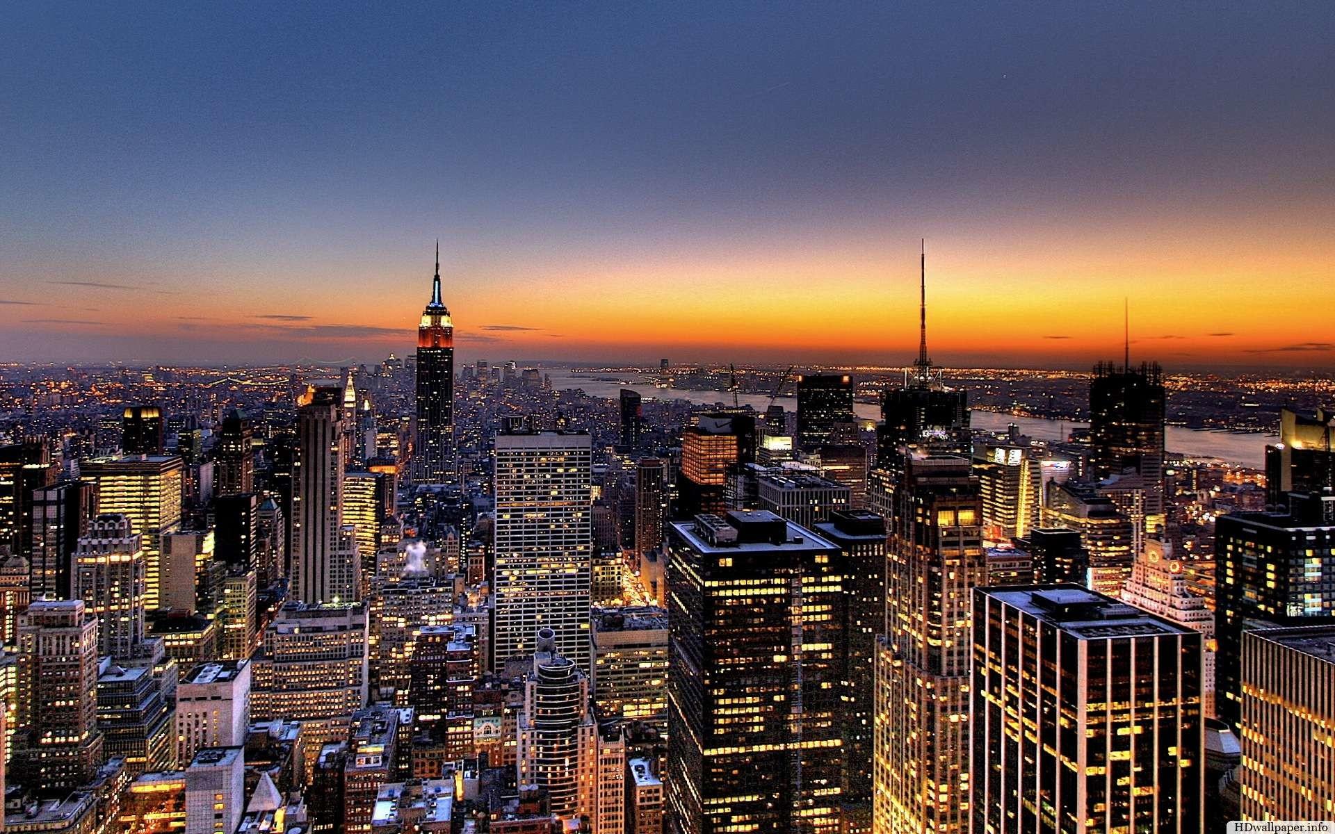Skyline New York Wallpaper Hd