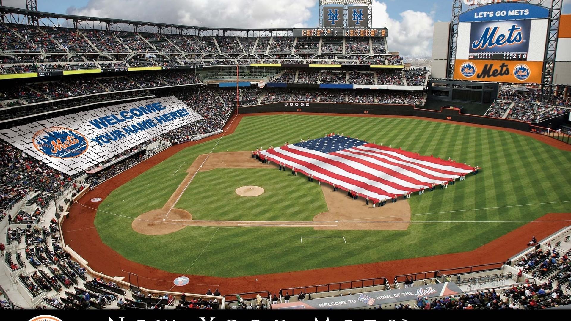 New York Mets, Stadium, New York Mets Baseball Stadium, Baseball, Sports,
