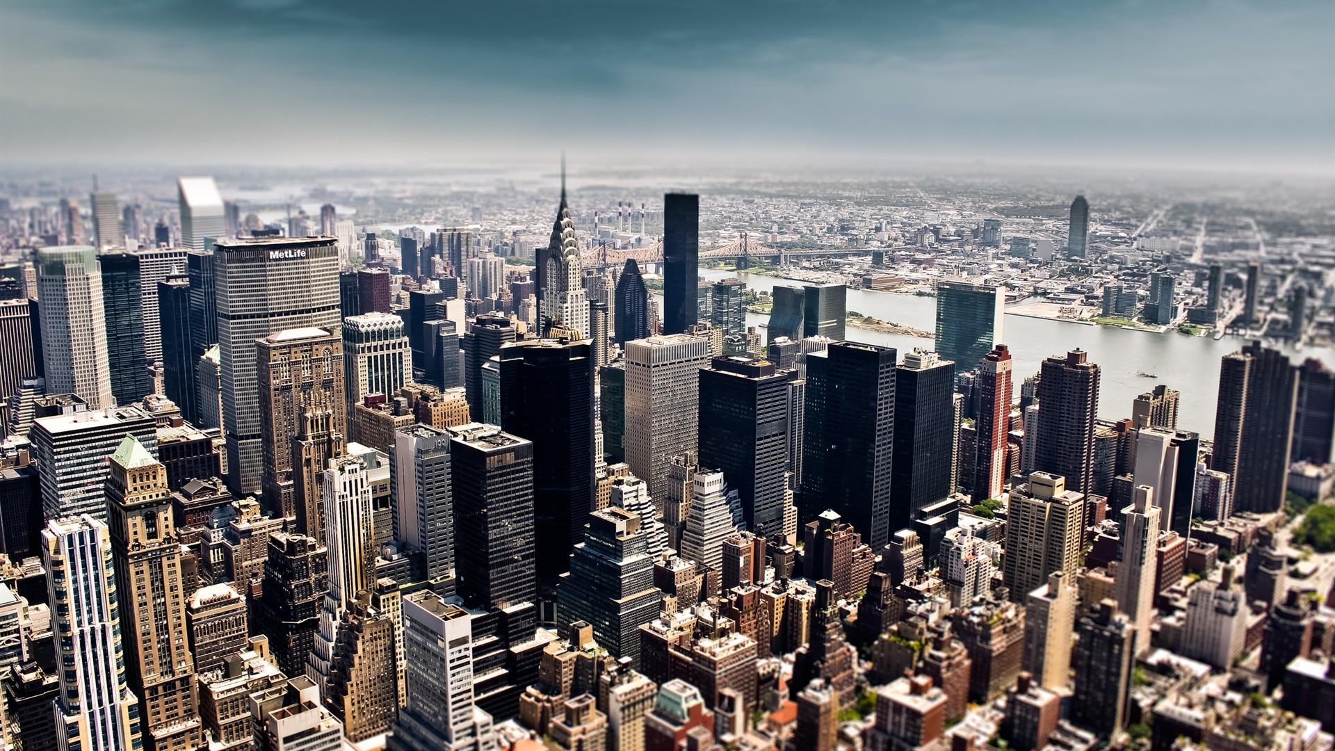 New York City Tilt Shift Photography Wallpapers, HD Wallpaper | HD