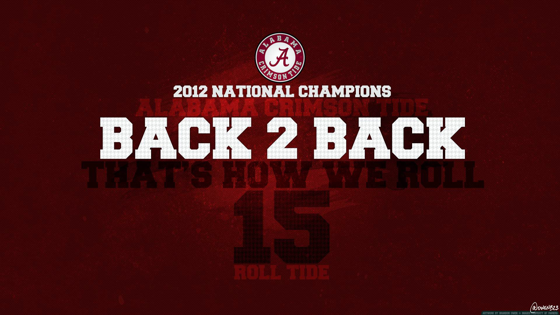 The official University of Alabama Crimson Tide new tab high resolution  images to theme your browser.