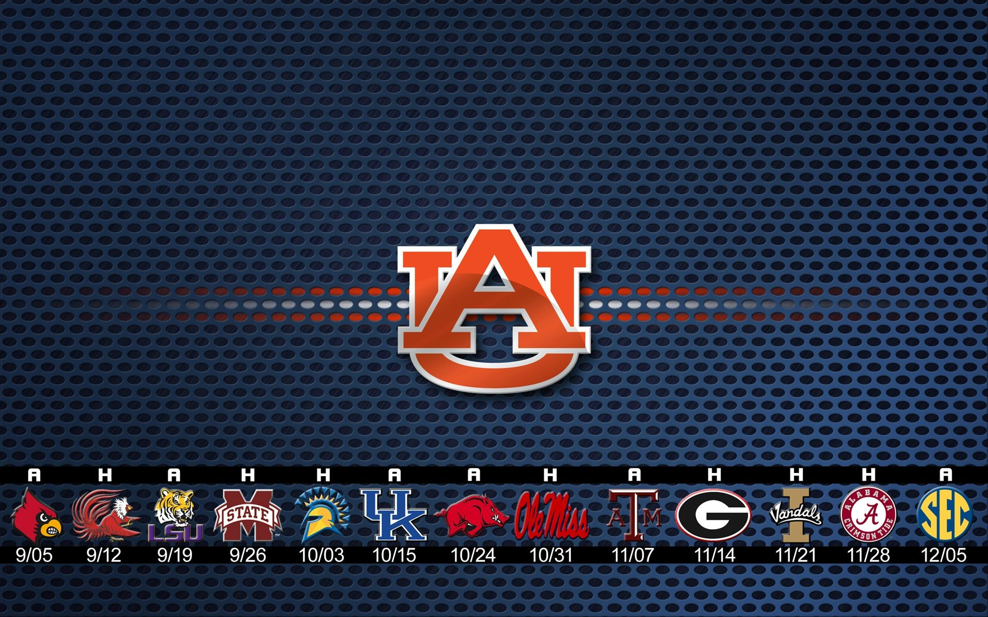 Auburn Tigers Football 2015 Schedule Wallpaper …