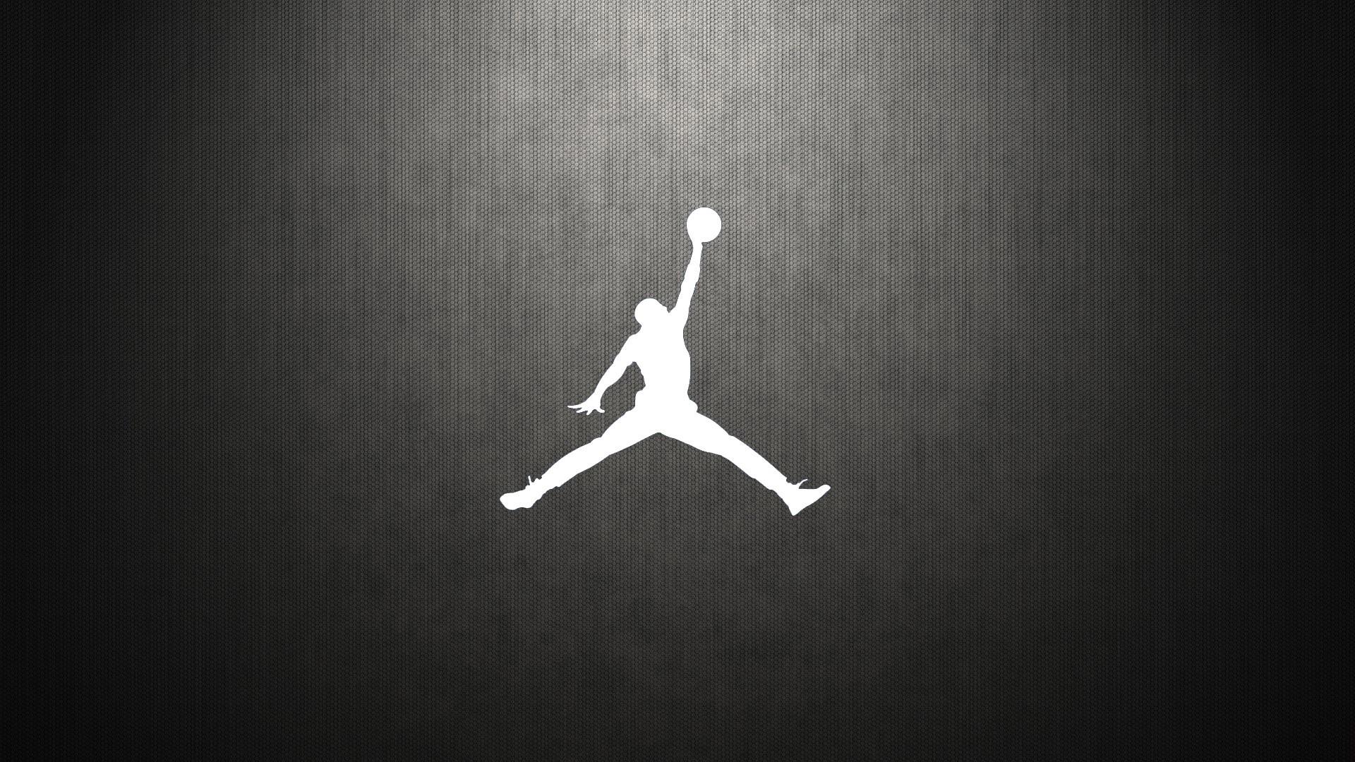 JORDAN LOGO Black White Background Jordan logo wallpapers