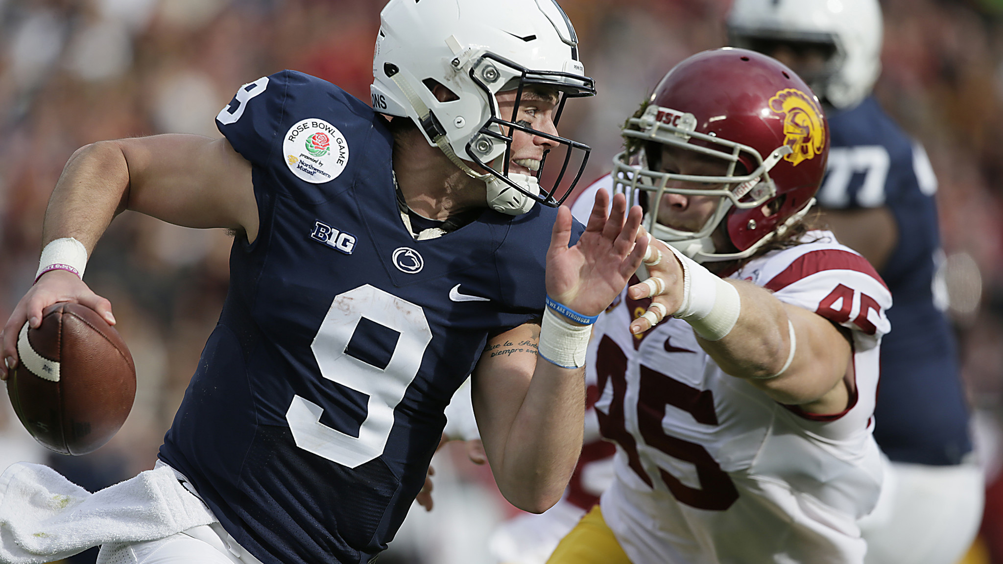 Trace McSorley tries to make sense of Penn State's loss in Rose Bowl – LA  Times