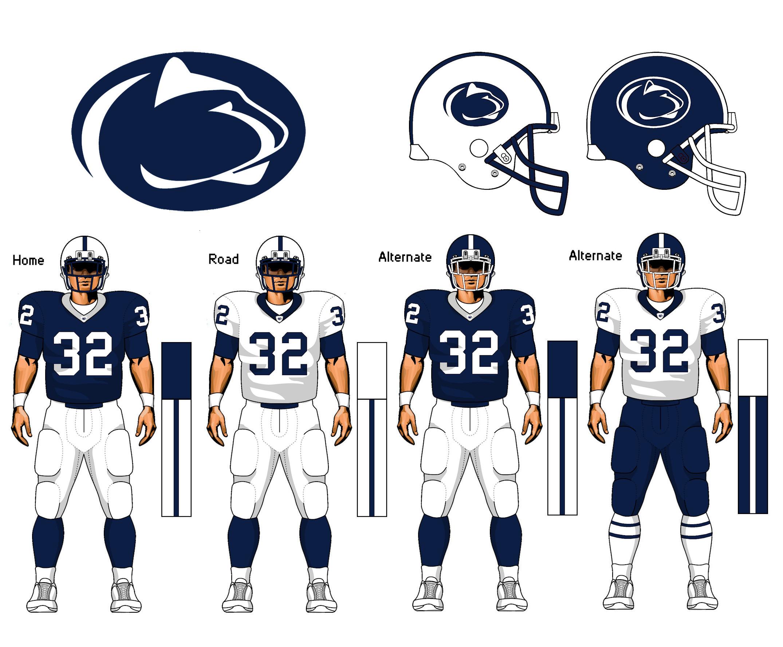 Penn State uniform concept by TheGreatKtulu Penn State uniform concept by  TheGreatKtulu