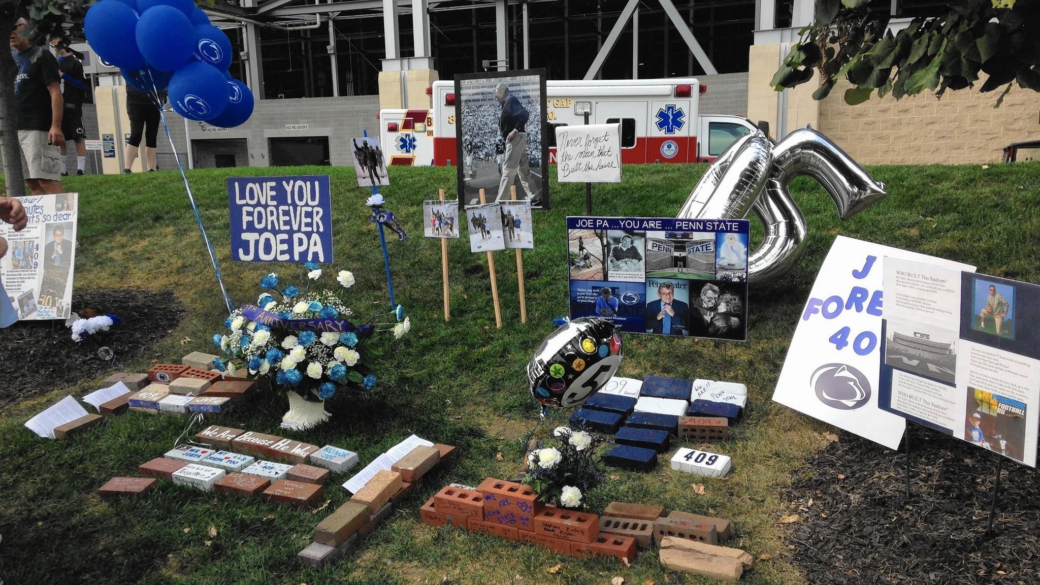 Crowd cheers Joe Paterno commemoration at Beaver Stadium – The Morning Call