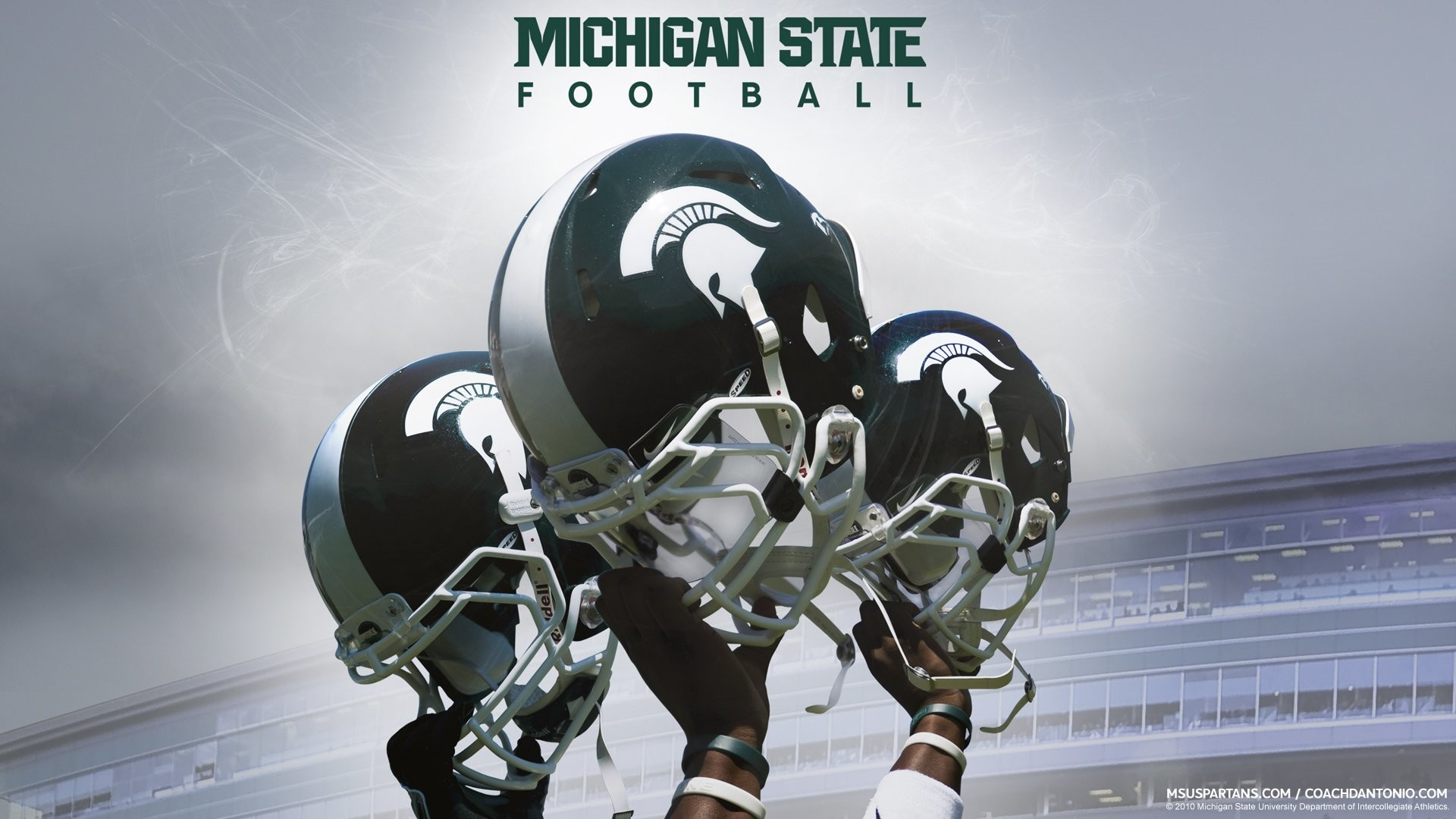 MICHIGAN STATE SPARTANS college football wallpaper background by .