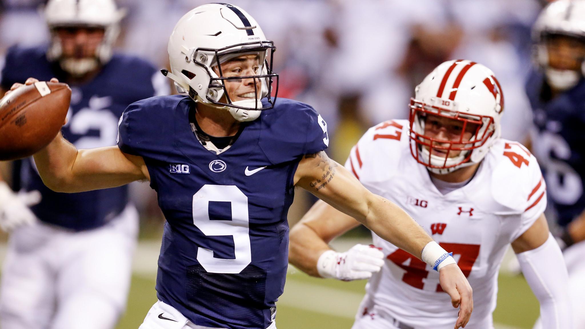 Penn State quarterback may not pass 'eyeball test,' but talent runs deep –  LA Times
