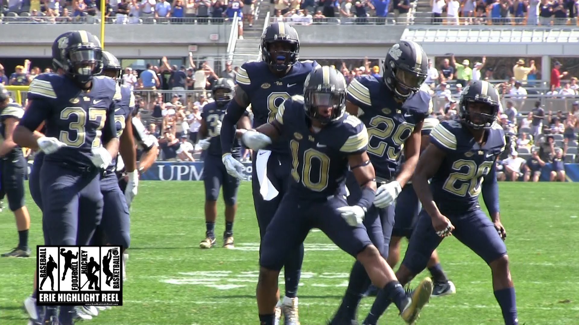 Quadree Henderson Highlights Pittsburgh Panthers Penn State 2016