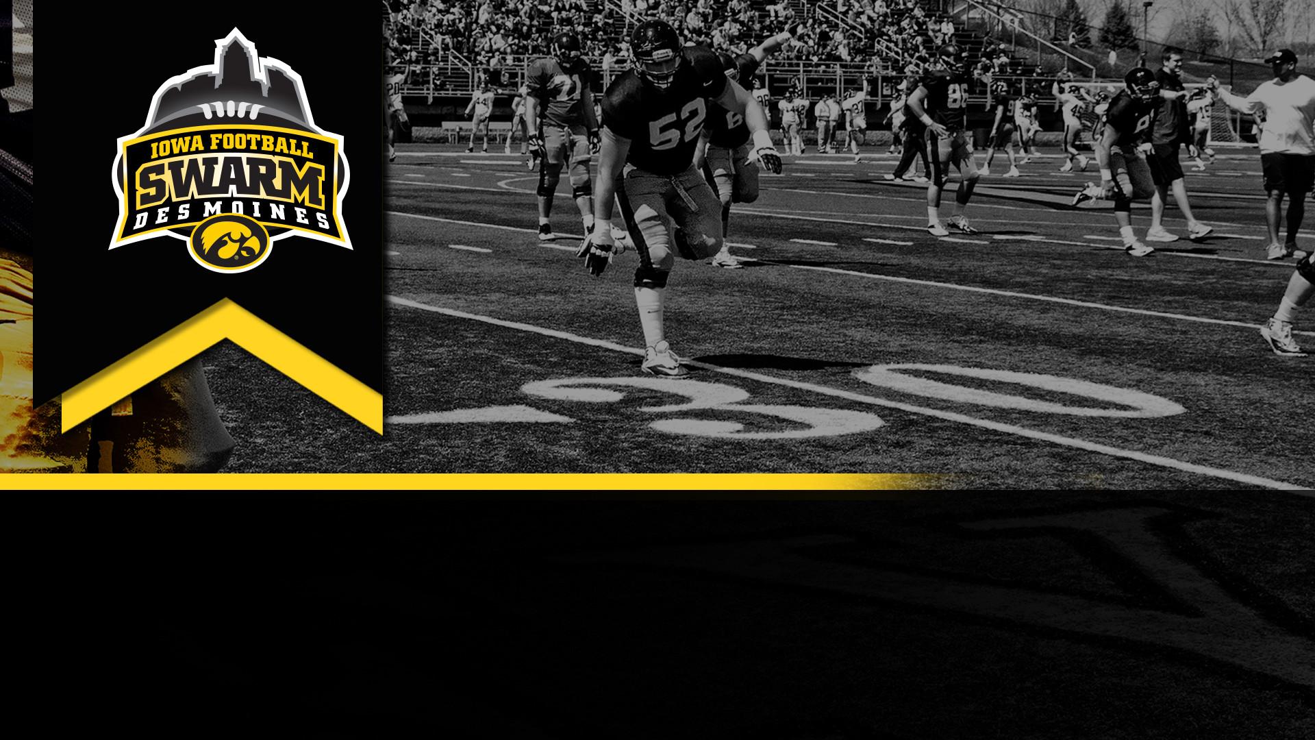 Iowa Football will Swarm Des Moines on April 7