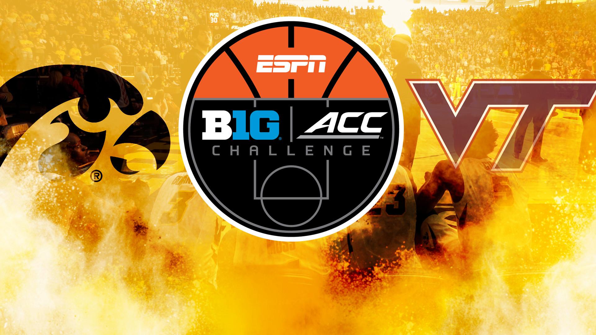 Iowa Draws Virginia Tech in Big Ten/ACC Challenge