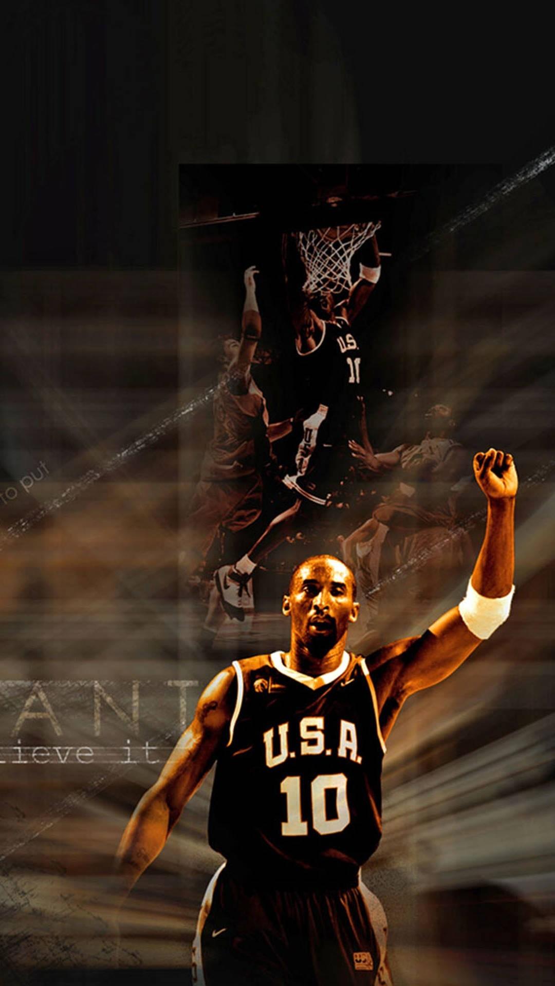 Kobe Bryant iPhone Wallpaper Basketball