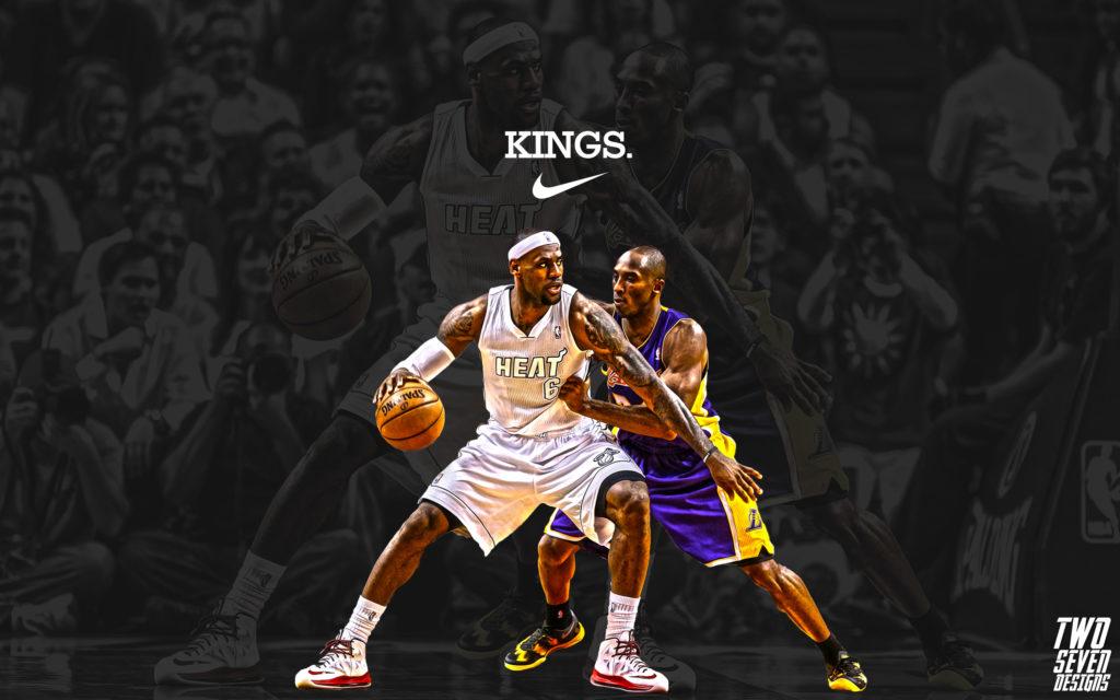 Kobe Bryant And Lebron James Wallpaper