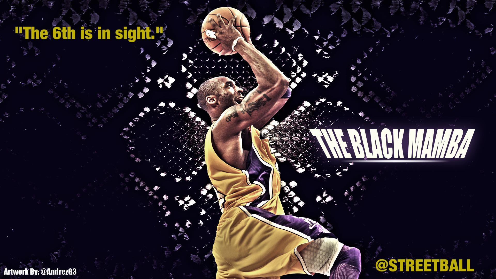 Kobe Bryant Wallpaper Black Mamba
