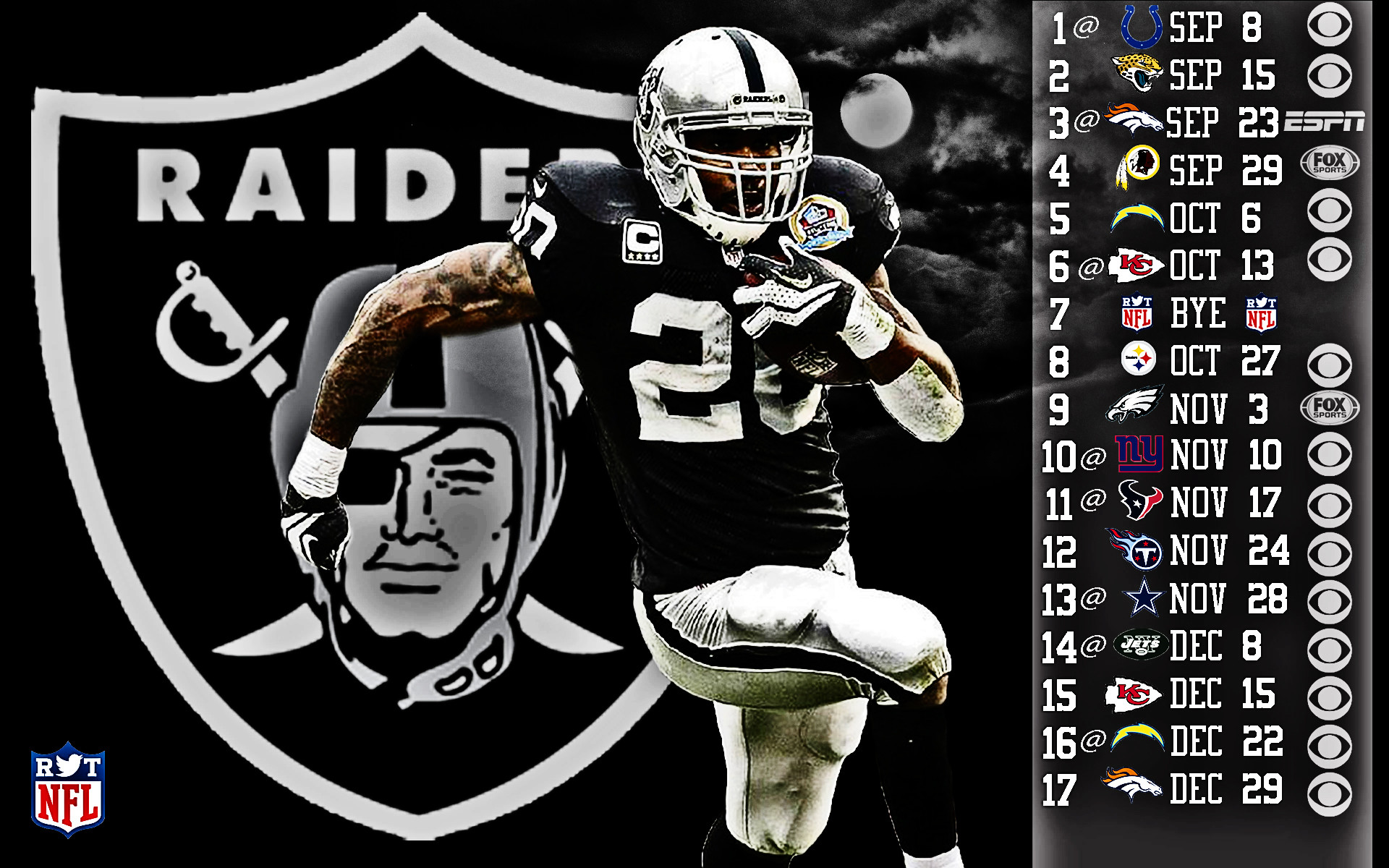 Oakland Raiders Backgrounds Creative Oakland Raiders Wallpapers