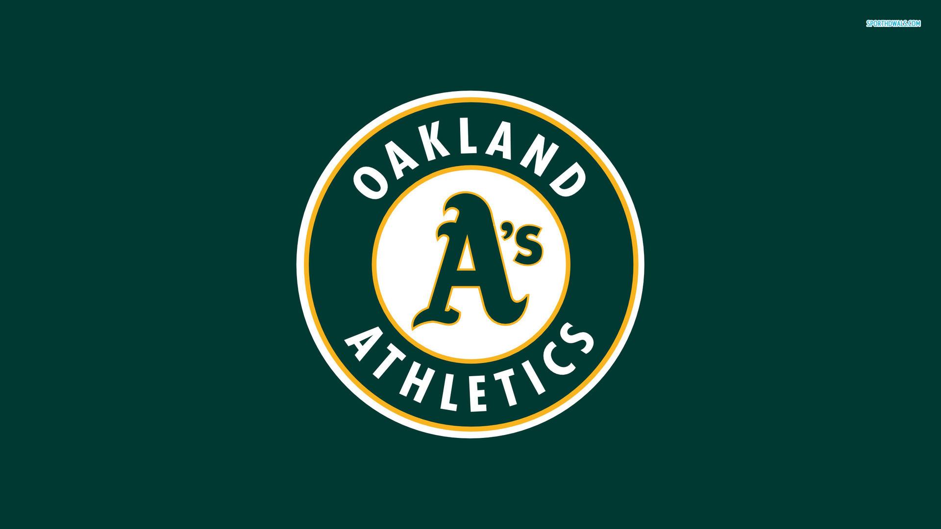 Oakland Athletics Logo Wallpaper