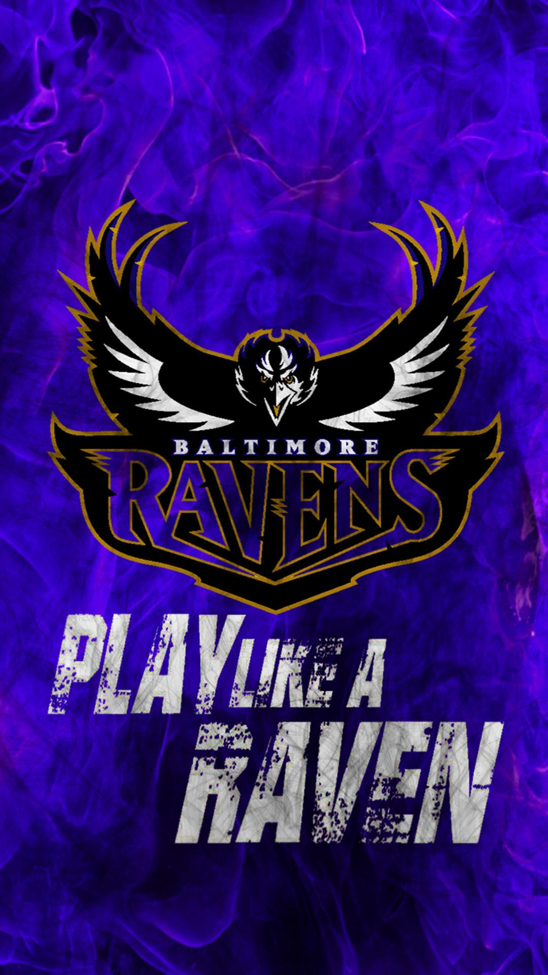 Baltimore <b>Ravens iPhone Wallpaper</b> HD