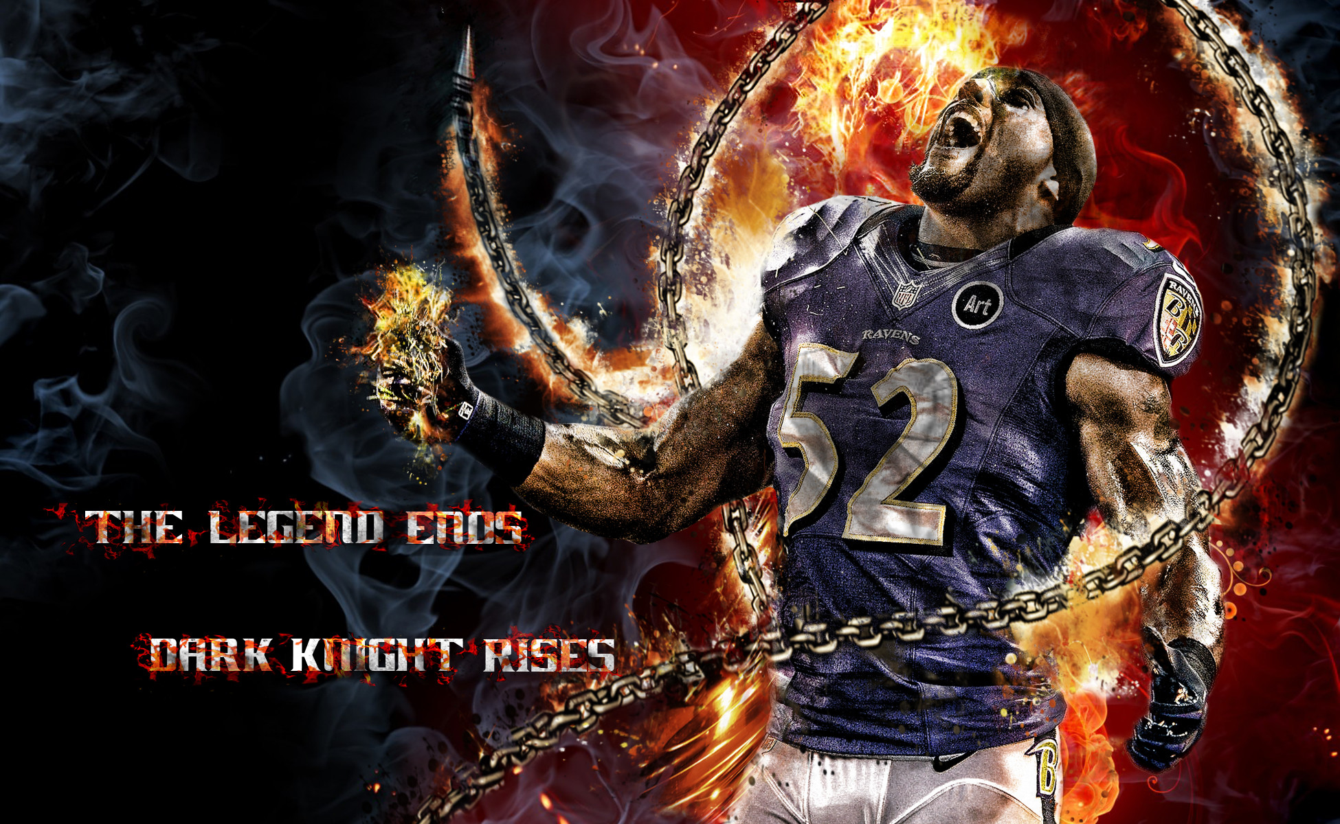 Ray Lewis Wallpaper HD for Desktop and Mobile – iPhone2Lovely