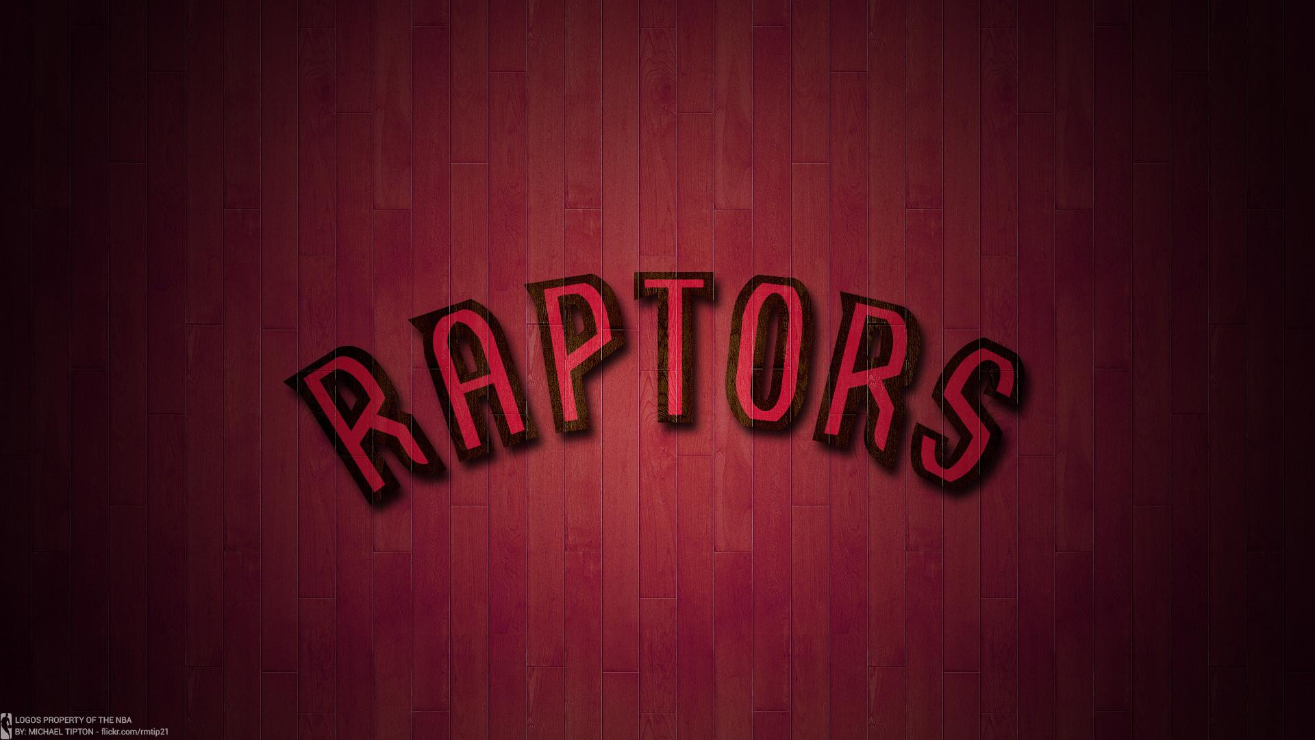 … NBA 2017 Toronto Raptors hardwood logo desktop wallpaper