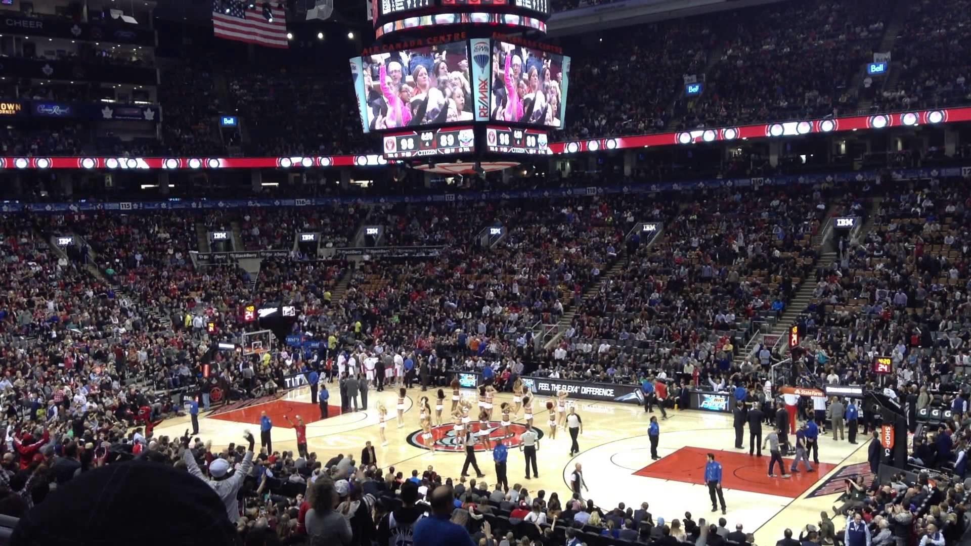 Toronto Raptors x New Orleans, Fev/2014 em Air Canada Centre, Toronto, CA –  YouTube