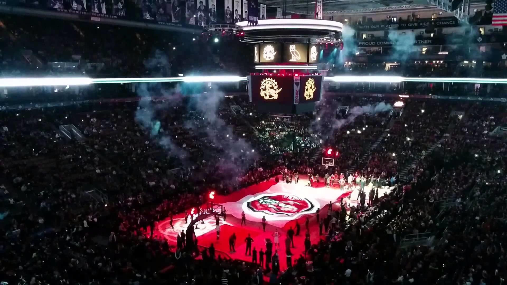 Toronto Raptors Drake Night Player Introductions