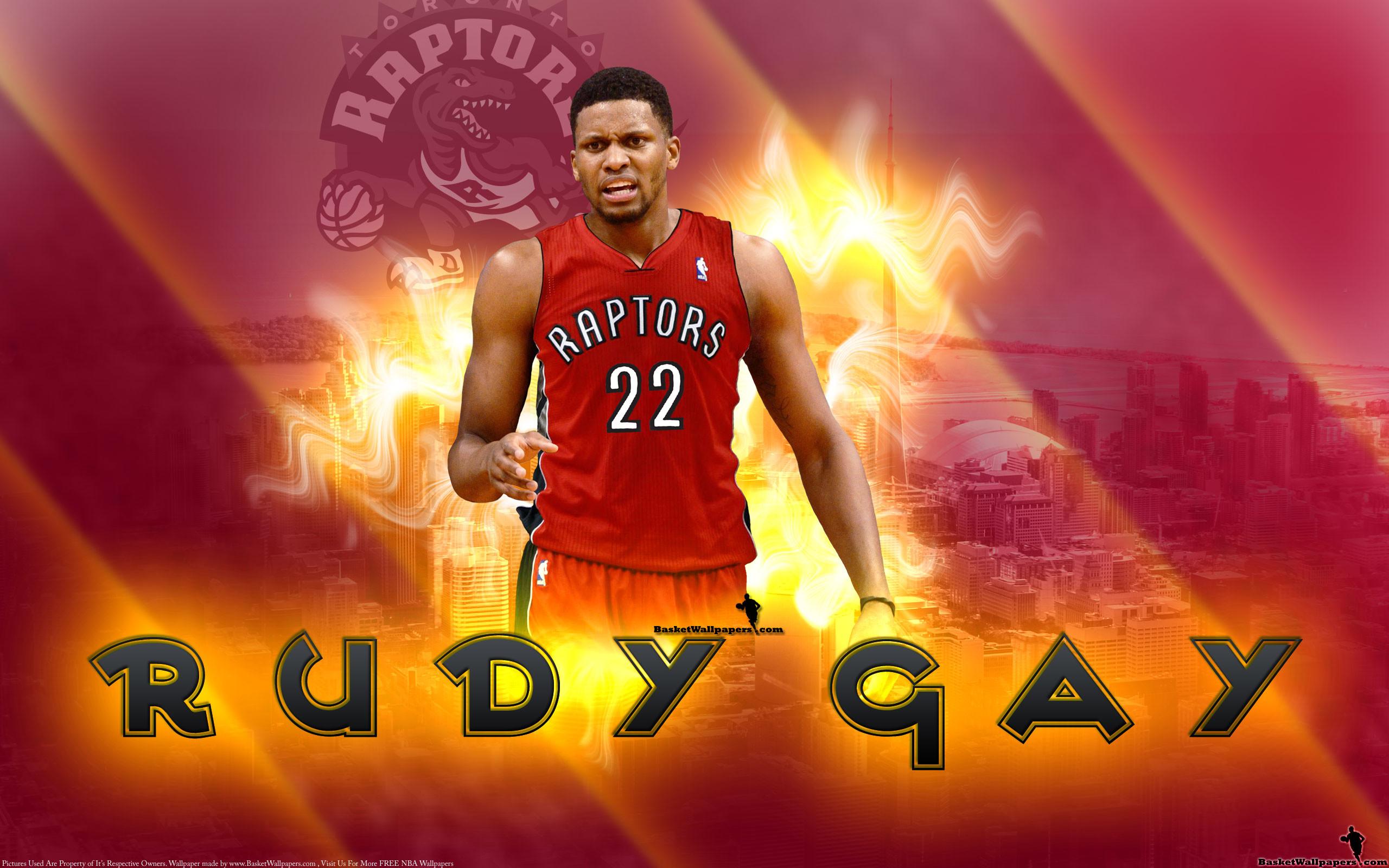 Rudy Gay Toronto Raptors 2013 Wallpaper