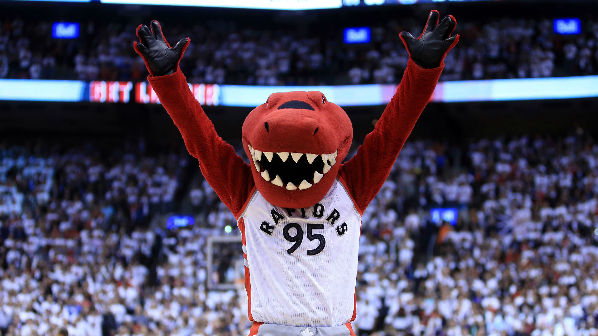 … contestant loses everything on NBA mascot clue, and that's just fine  … nba mascot raptors toronto …