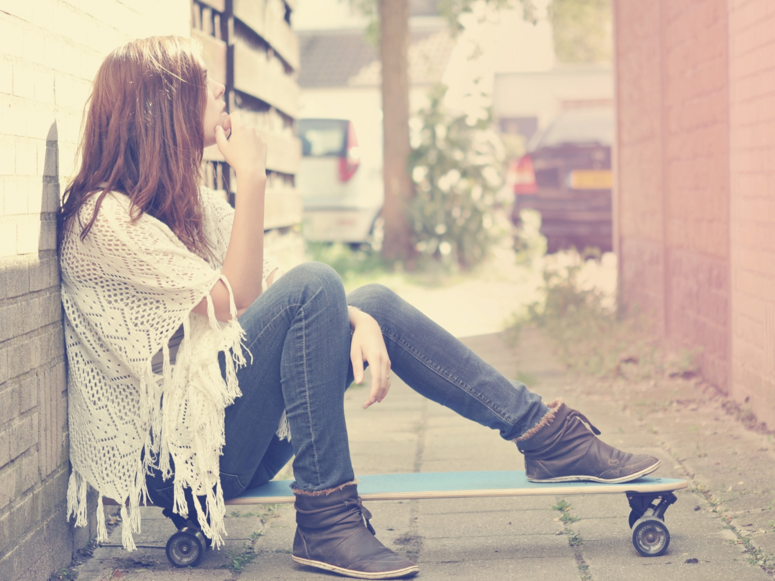 Skateboard Skate Girl