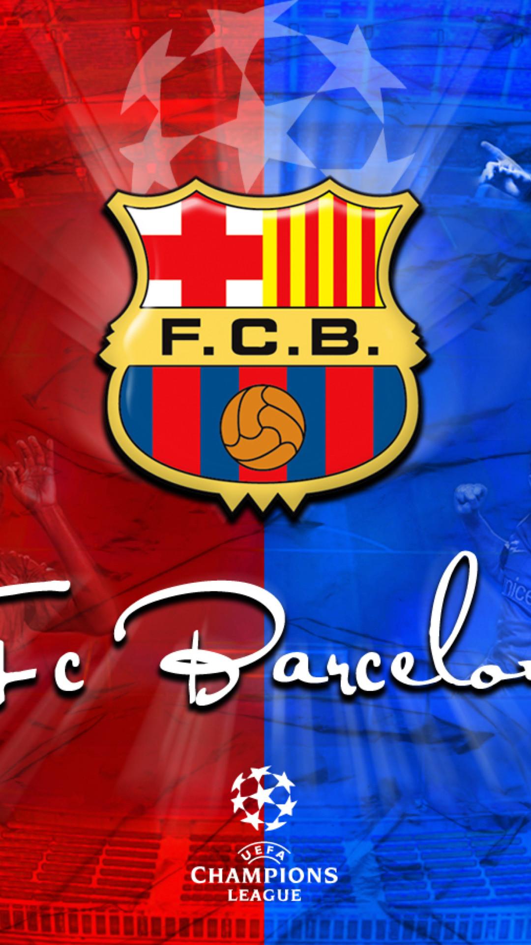 Image of Barcelona Logo Iphone 5.