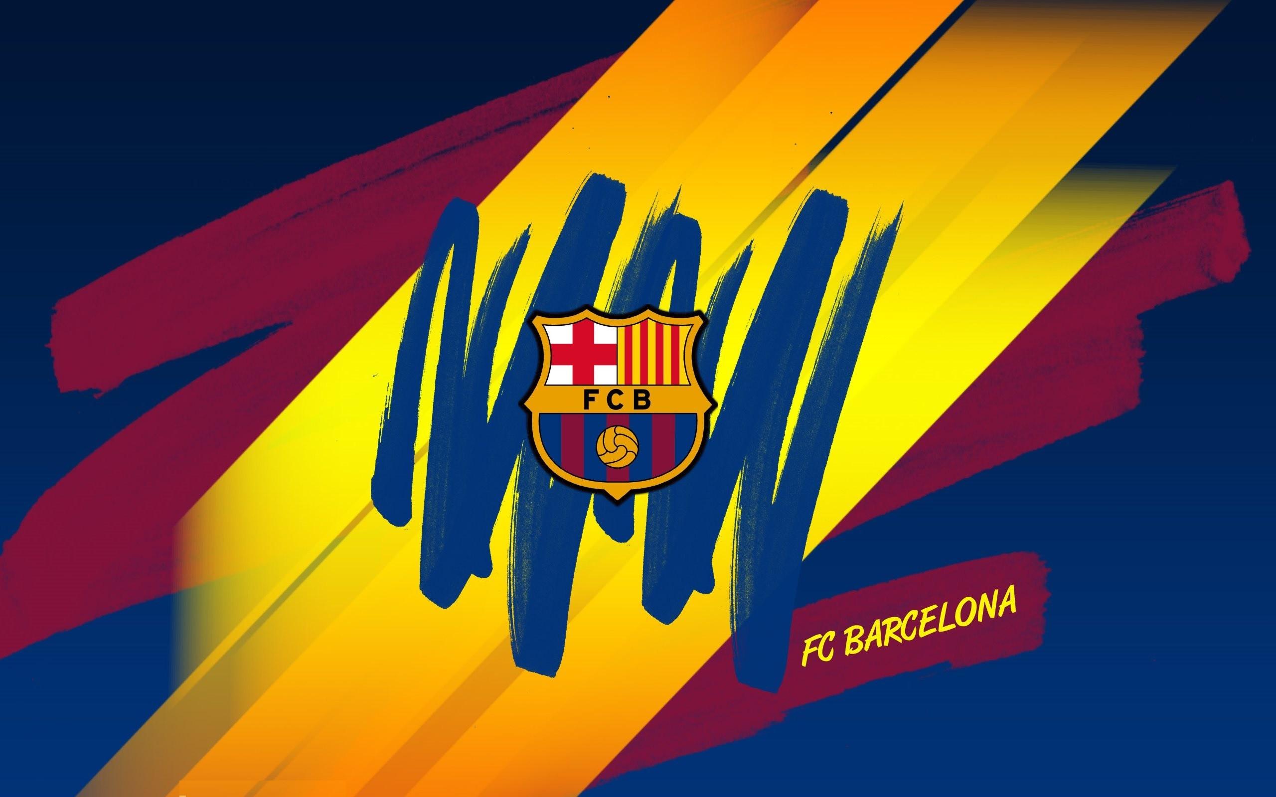 FC Barcelona Logo Wallpaper For Windows.