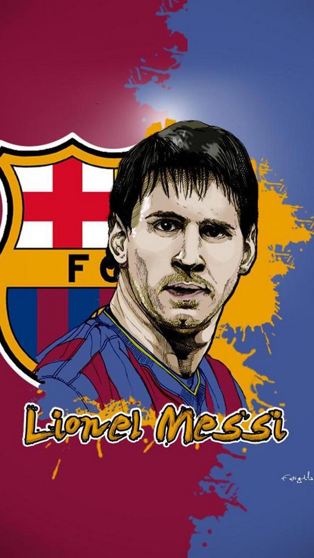 Cool Barcelona FC Iphone 5 Wallpaper.