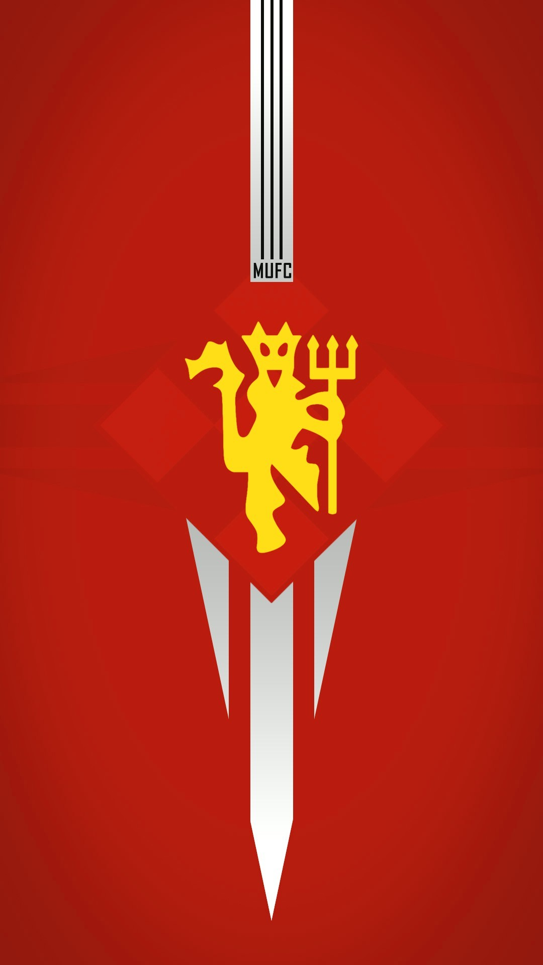 Manchester United Red Devils iPhone Wallpaper