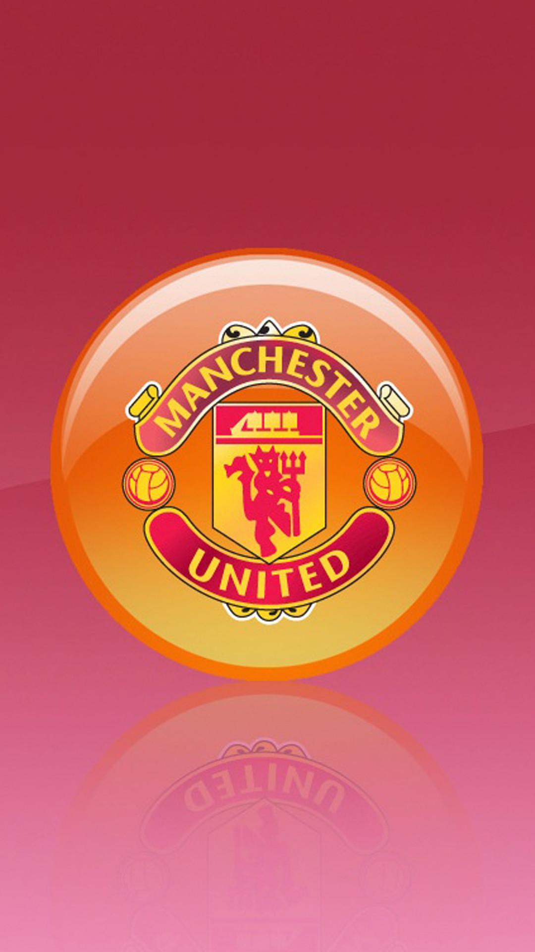 Apple iPhone 6 Plus HD Wallpaper – Manchester United Logo in 3D  #appleiphone6plus #appleiphone6wallpaper
