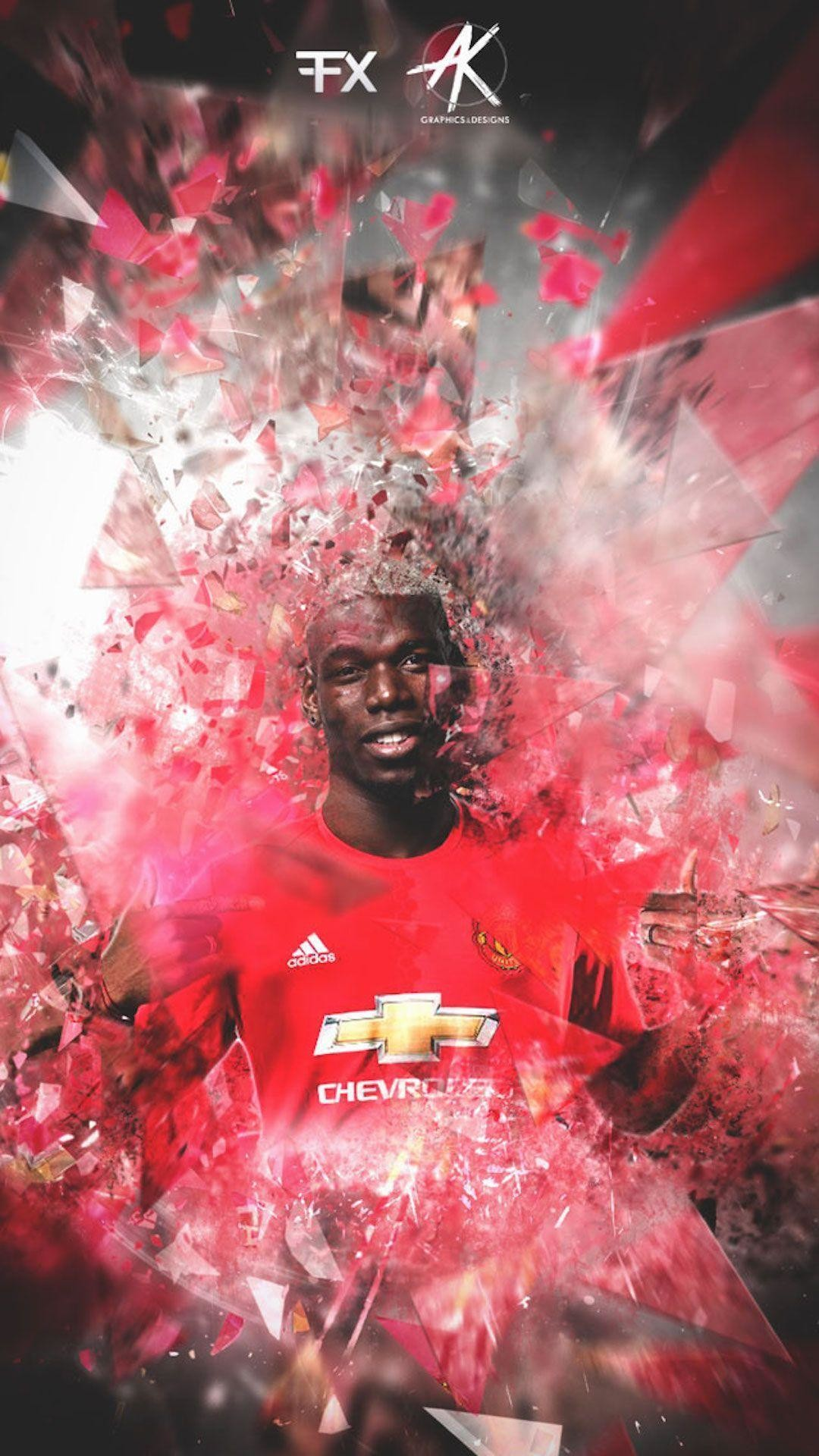 Paul Pogba Manchester United iPhone Wallpaper – Wallpapers iPhone