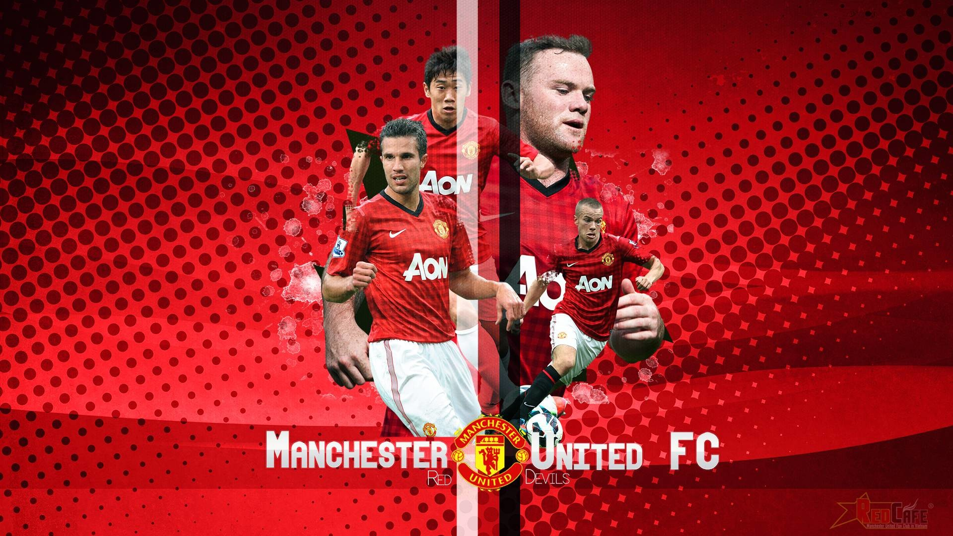 Manchester United Wallpaper For Android | Manuwallhd.com