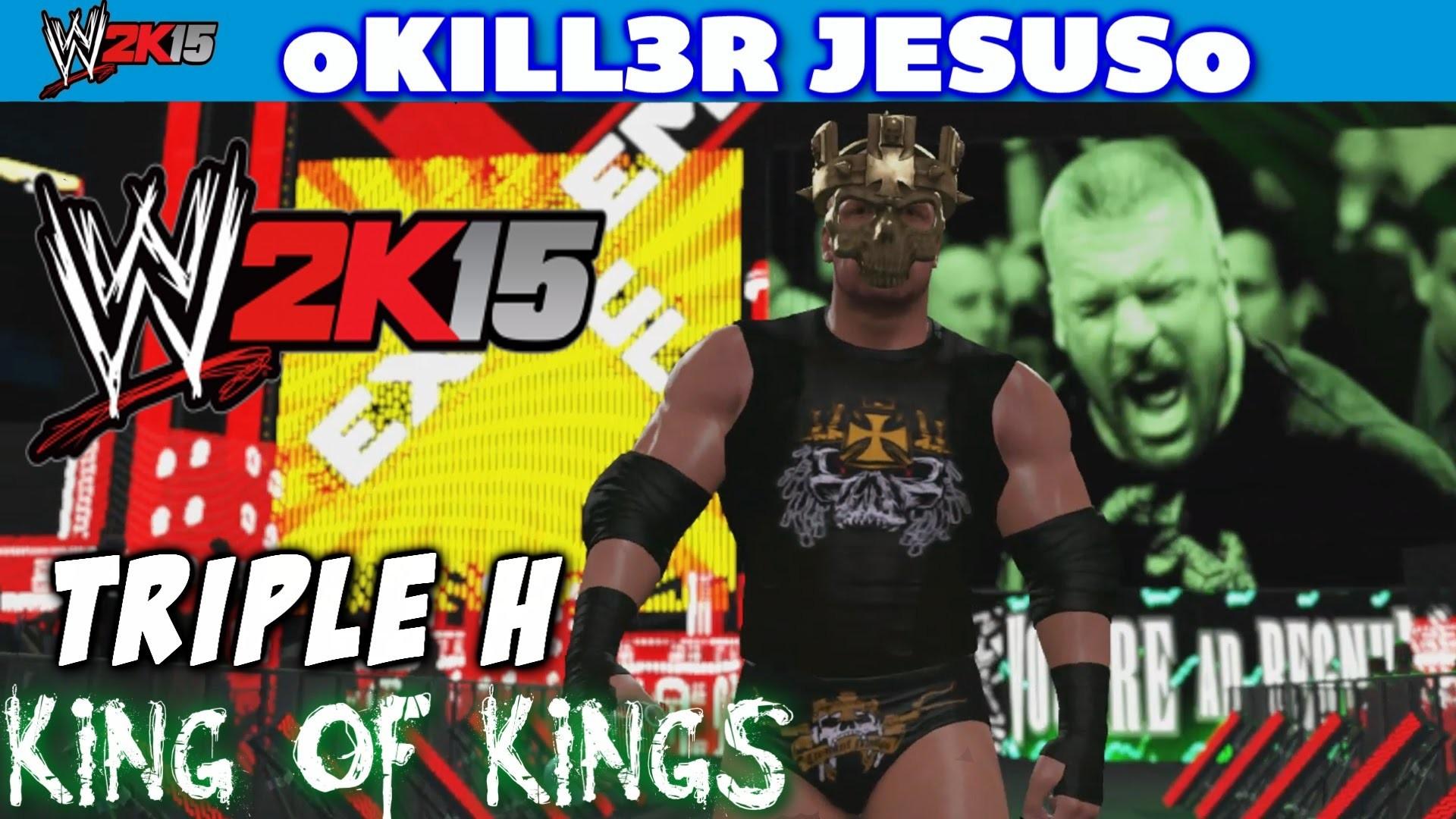 WWE 2K15 Triple H – King of Kings Skull King Mask I Community Creations PS4  XBOX ONE – YouTube