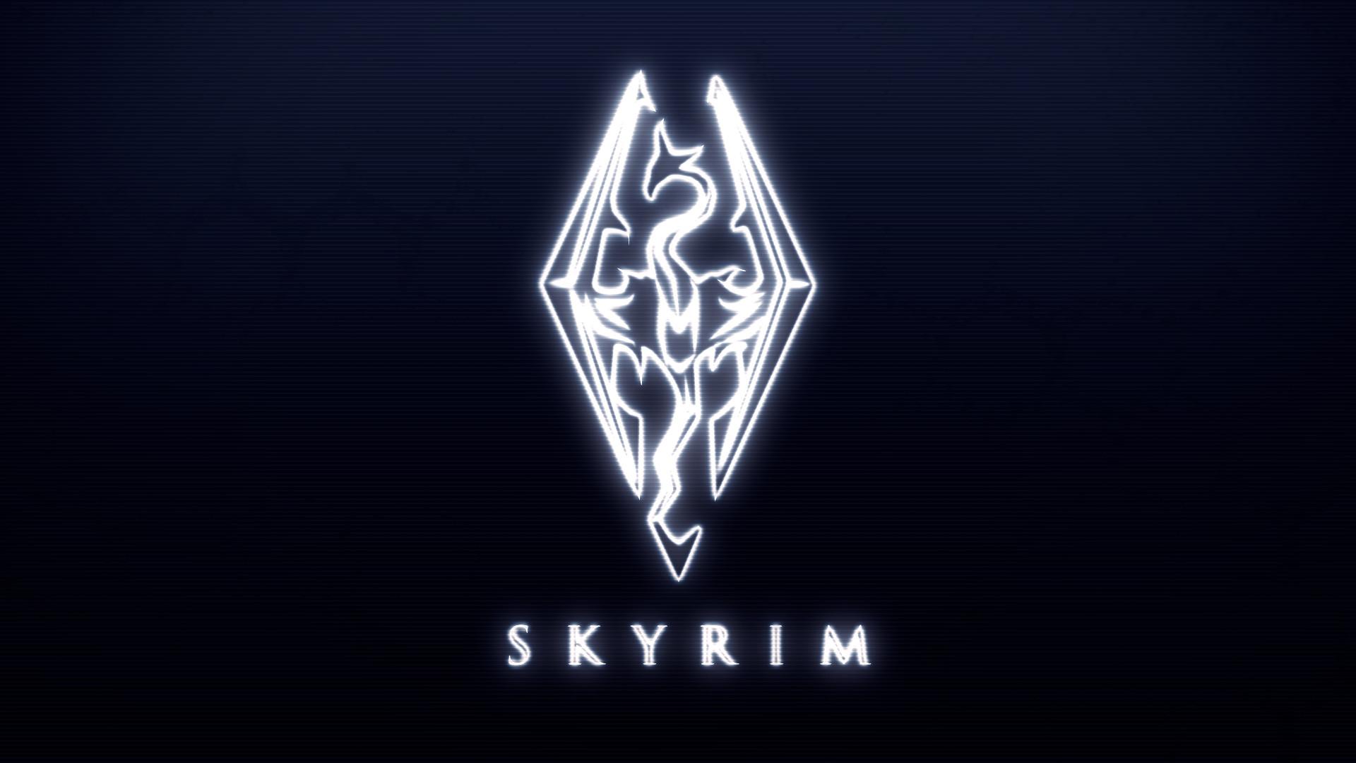 <b>Skyrim Logo Wallpaper</b> – phebus