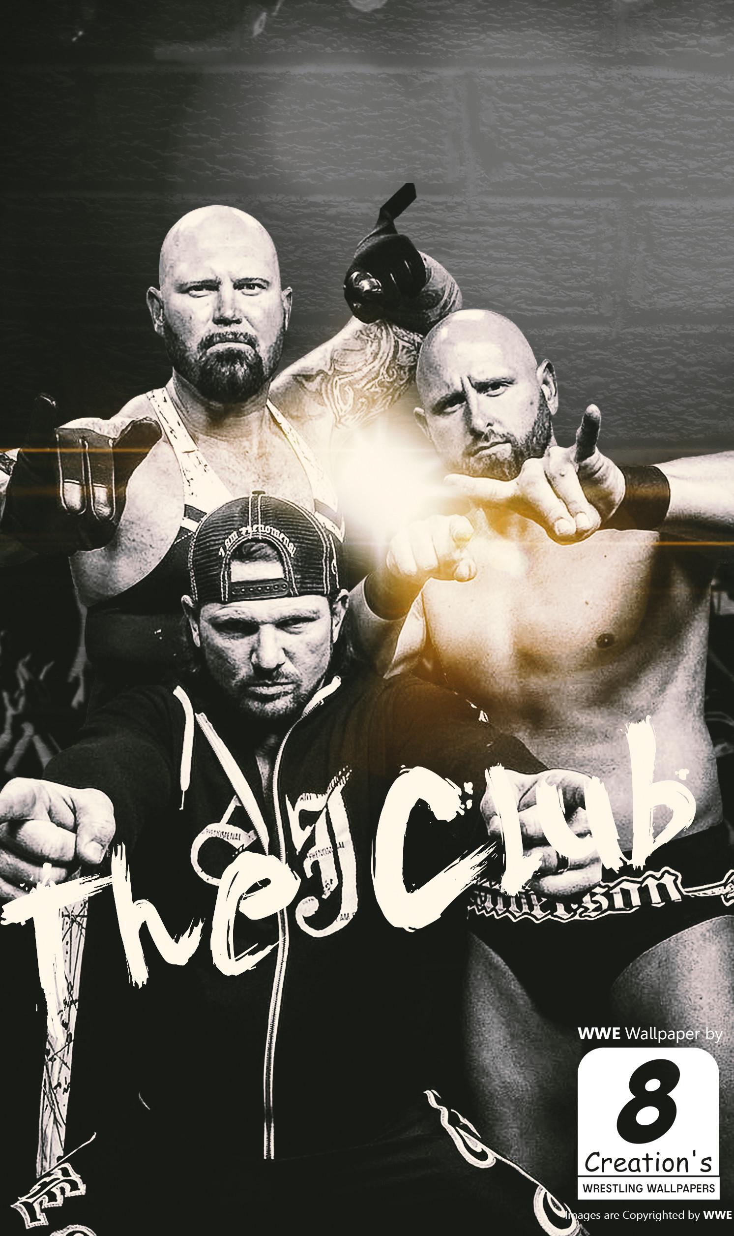 … WWE The Club iphone Wallpaper by Arunraj1791