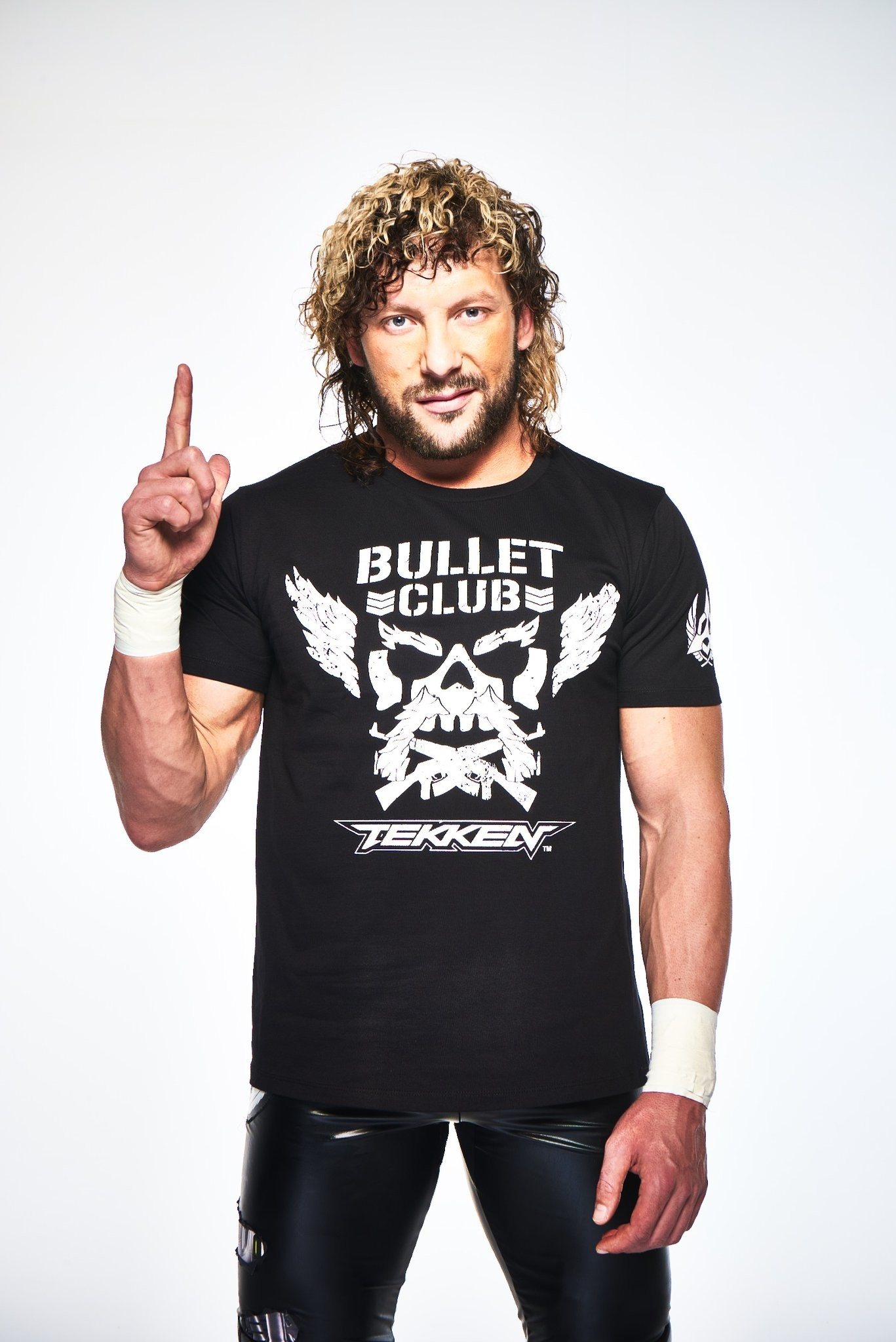 Pictured below in the gear is pro wrestler Kenny Ormega, a huge fan of  Tekken and also one of the faces of the Bullet Club.