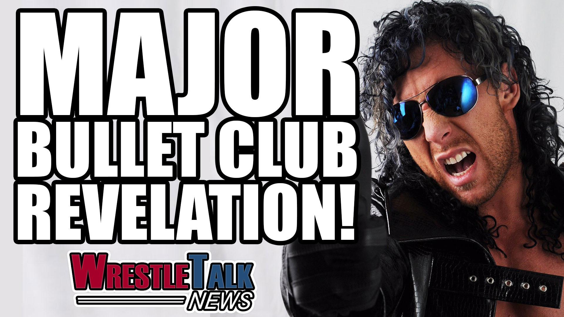 WWE injury update, major Bullet Club news at Ring Of Honor – WrestleTalk  News