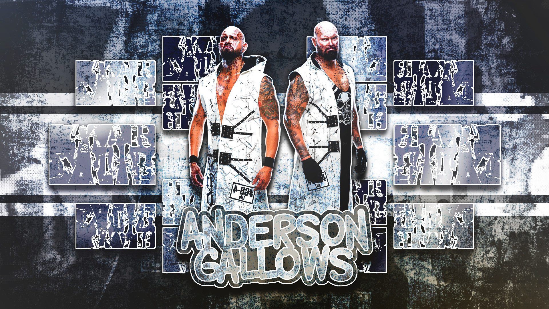 … DarkVoidPictures Anderson And Gallows Wallpaper (1080p) by  DarkVoidPictures