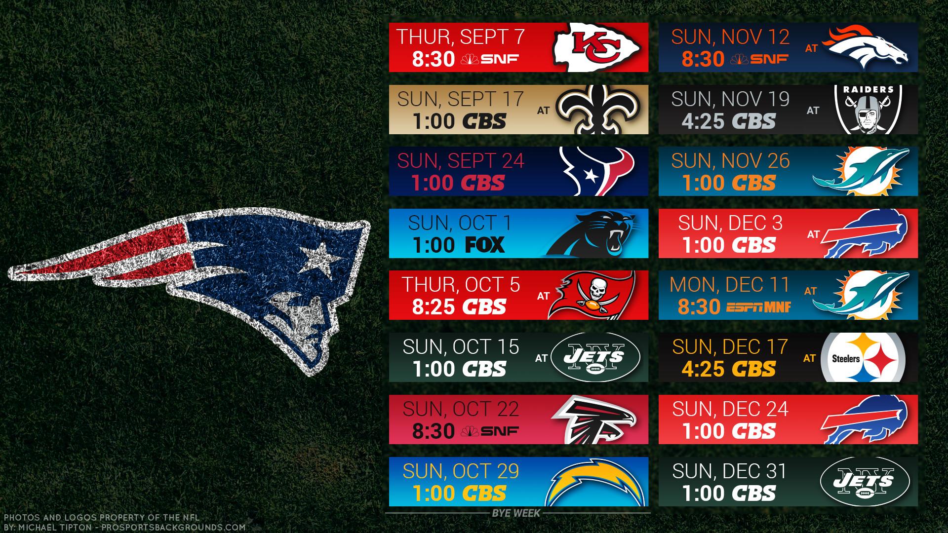 … New England Patriots 2017 schedule turf football logo wallpaper free pc  desktop computer …