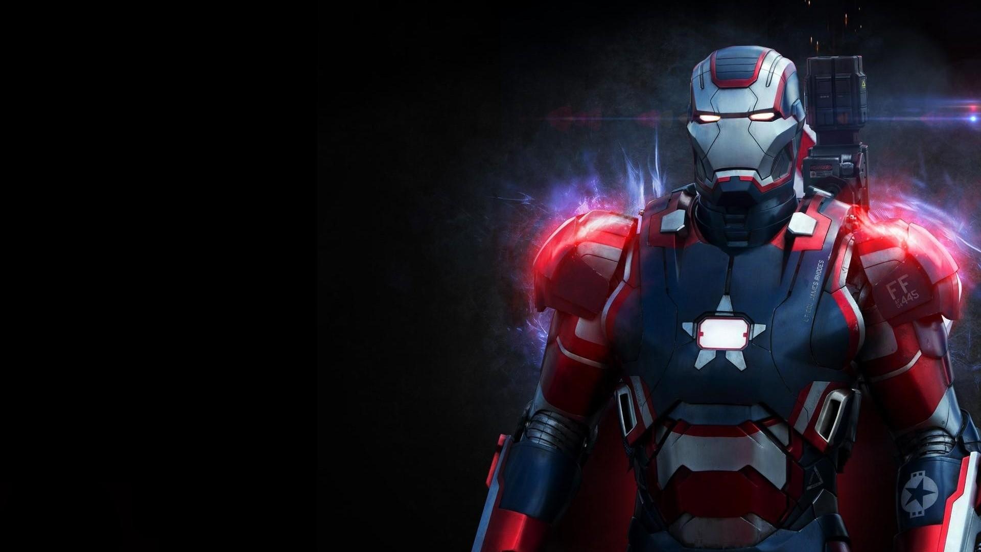 Iron Patriot desktop PC and Mac wallpaper